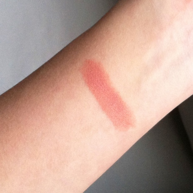 "Not really a ""swatch"", but just to give you an overall idea of the level of pigmentation/coverage"