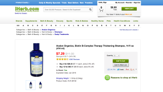 iHerb: not exactly a XXI century online shopping experience