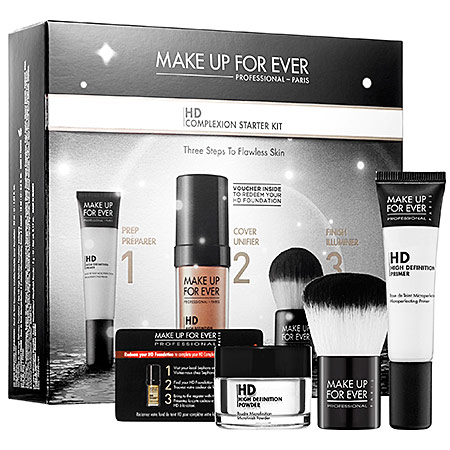 MUFE HD Complexion Starter Kit with Voucher at Sephora