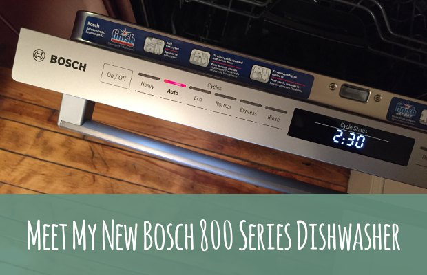 Bosch 800 Series Dishwasher Review